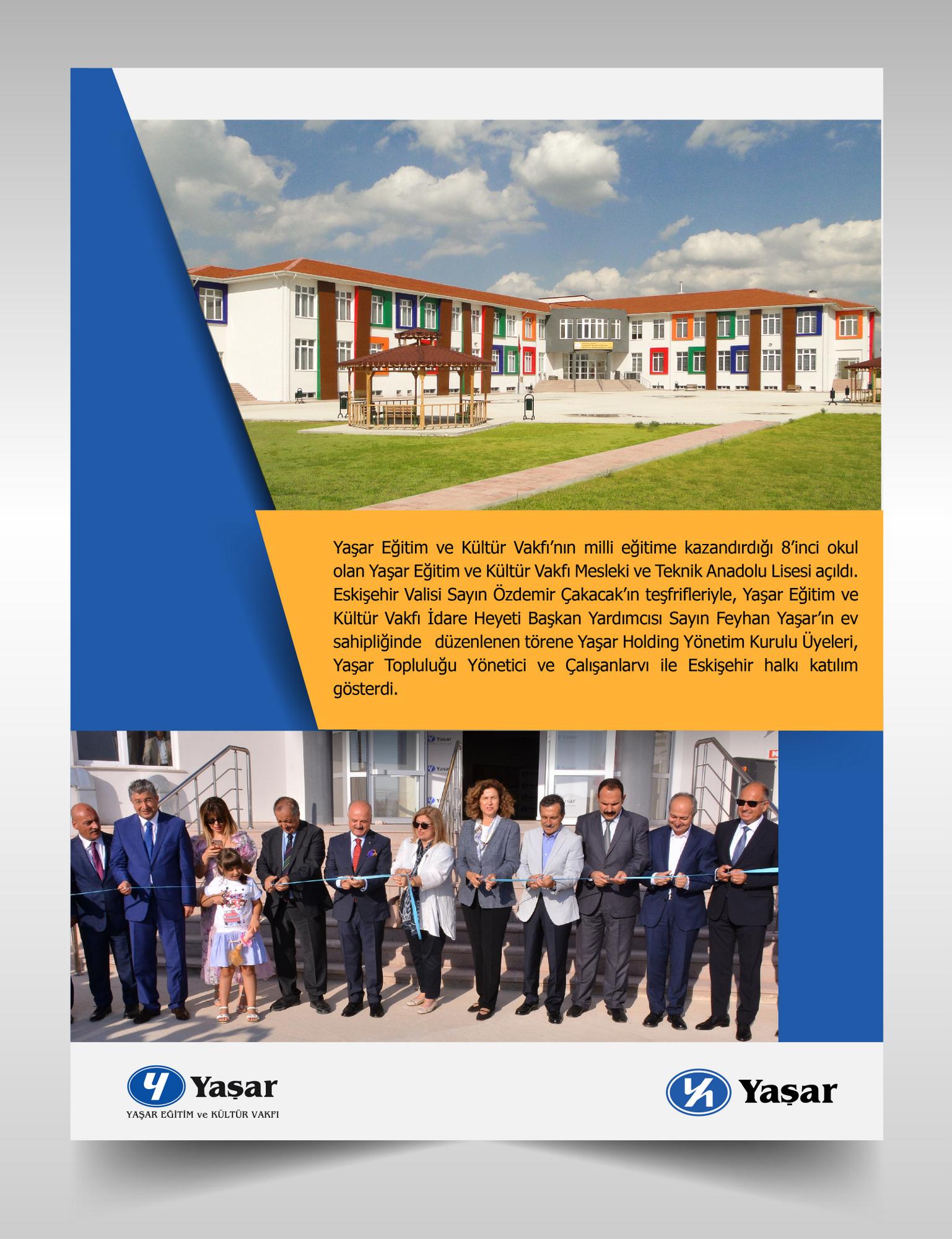 Yaşar Eğitim ve Kültür Vakfı İdare Heyeti Başkan Yardımcısı Feyhan Yaşar