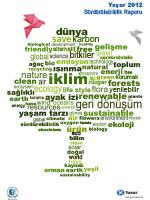 2012 Sürdürülebilirlik Raporu